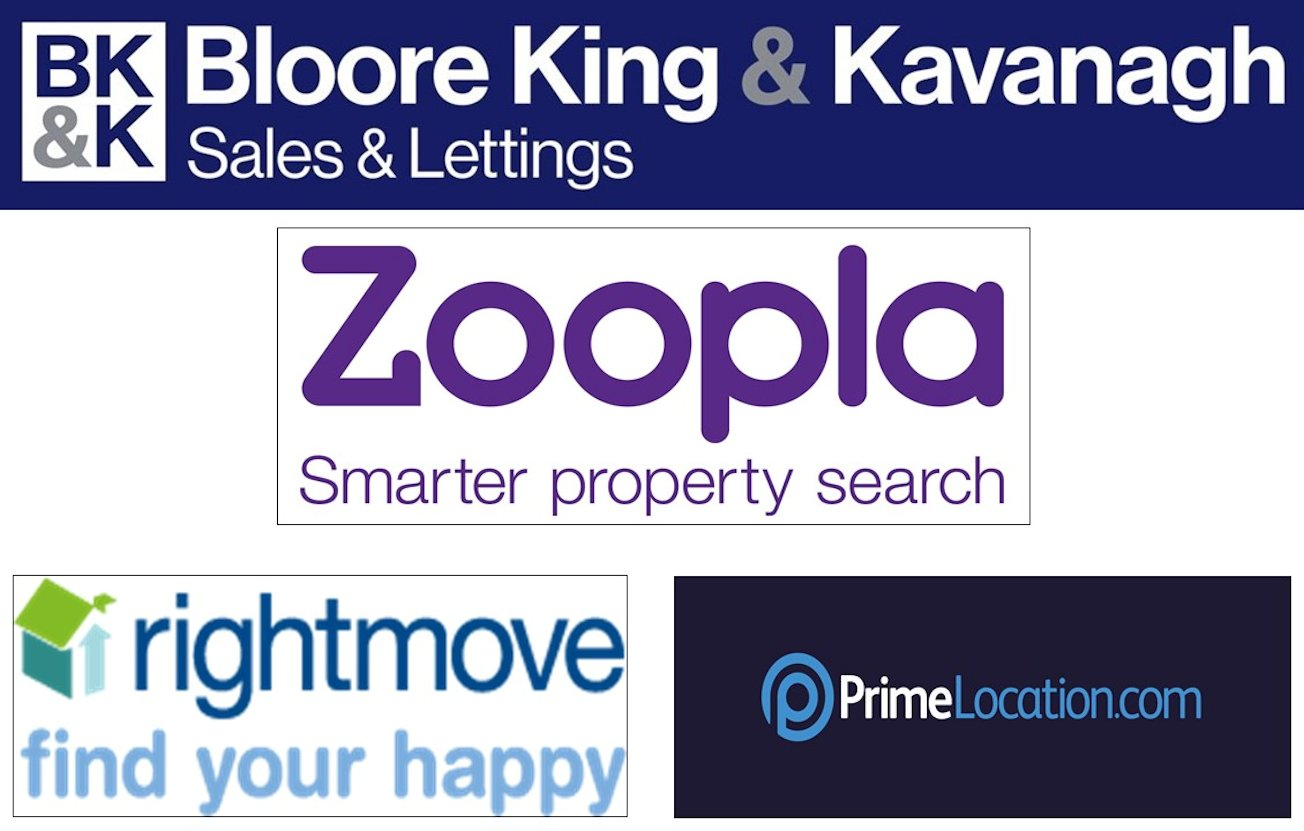 Bloore King & Kavanagh Join Zoopla and Prime Location