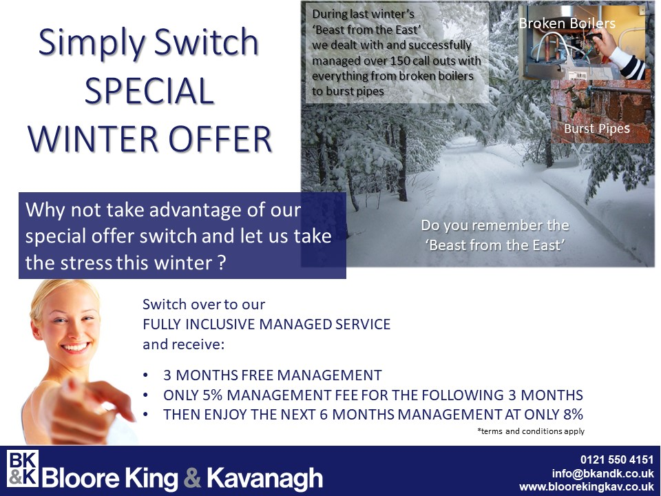 Simply Switch Winter Special Offer